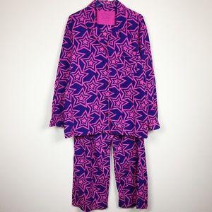 VS | Flannel Star Pajama Set Sz XL